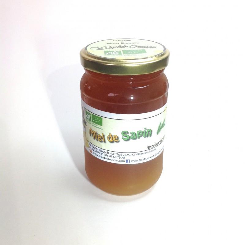 Miel de Sapin BIO récolté en France.