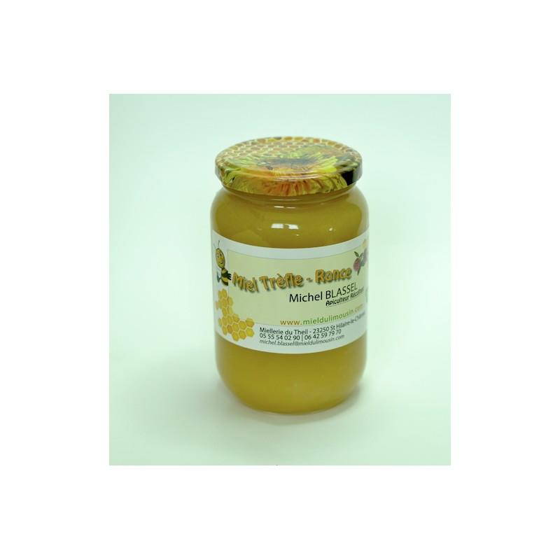 Miel de Ronce certifié BIO, récolté en France.